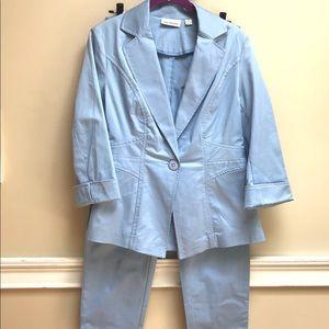 JOAN RIVERS 2PC - Jacket & Capri Pants Set - NEW